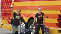 U.S. women's team returns home after World Cup win