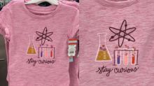 People Are Obsessed With Target's Science Shirts, Just for Girls