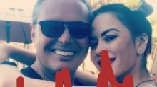 La foto acaramelada de Karina Jelinek y Luis Miguel en Miami