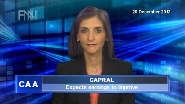 Capral expects earnings to improve