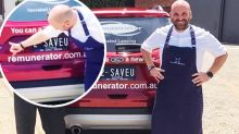 George Calombaris suffers embarrassing gaffe with new endorsement