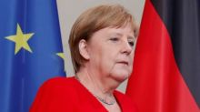 Germany's Merkel hails her ally's move to Brussels