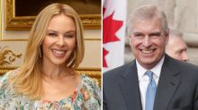 Kylie Minogue rumoured to be dating Prince Andrew