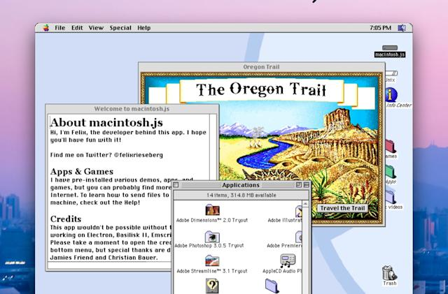 Mac OS 8 emulator brings the late '90s to your modern PC