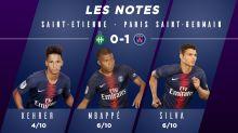 Saint-Etienne - PSG (0-1) : Les notes des Parisiens