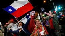 'Rebirth': Chileans vote by millions to tear up Pinochet's constitution