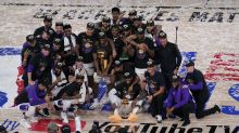 Global stars celebrate Los Angeles Lakers' NBA title – Monday's sporting social