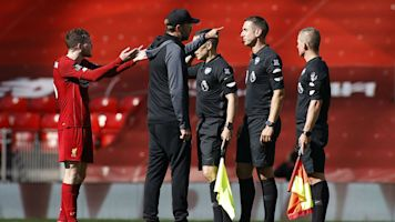 That's not how it should be - Klopp explains referee remonstration
