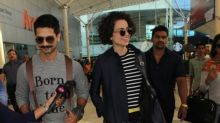 Shahid Kapoor feels his Rangoon co-star Kangana Ranaut could become a good politician!