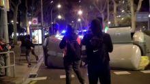 Violent protests return to Barcelona