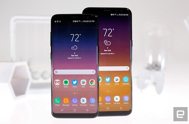 Unlocked versions of Samsung's Galaxy S8 are up for pre-order