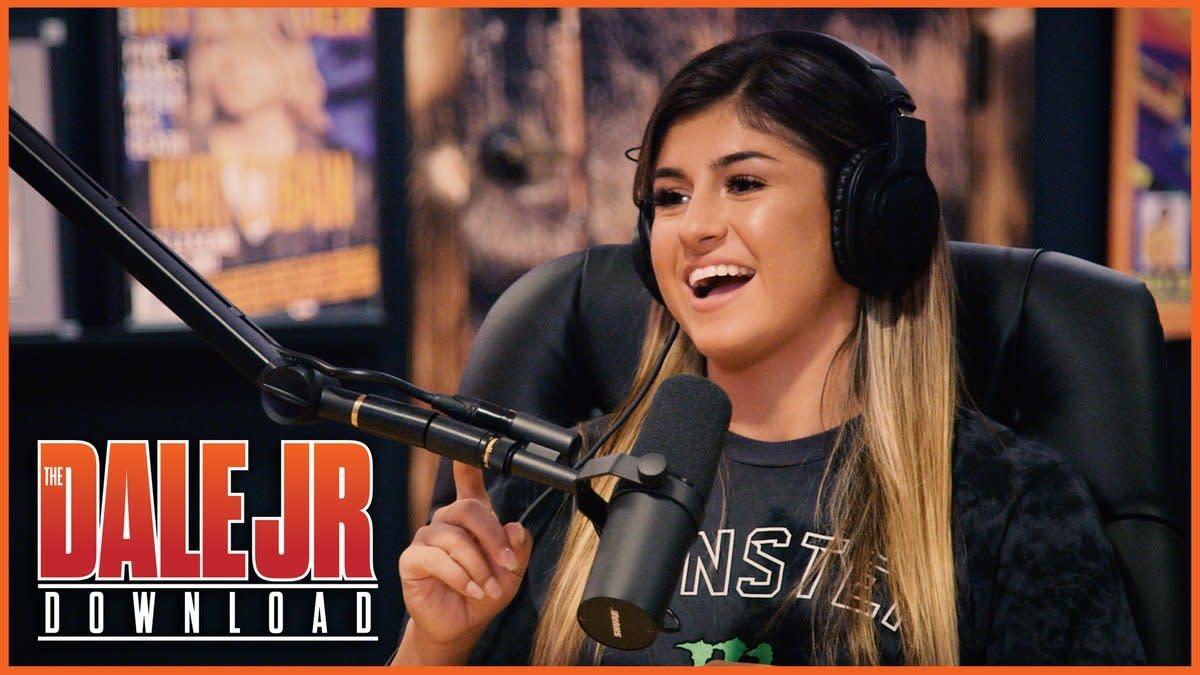 Hailie Deegan on Dale Jr. Download: 'I'm a racer, not a model'