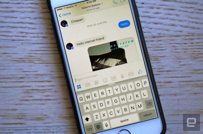 Facebook Messenger tops one billion monthly users