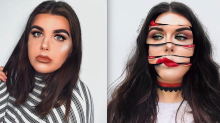 This 19-year-old's special-effects makeup will make you do a double take