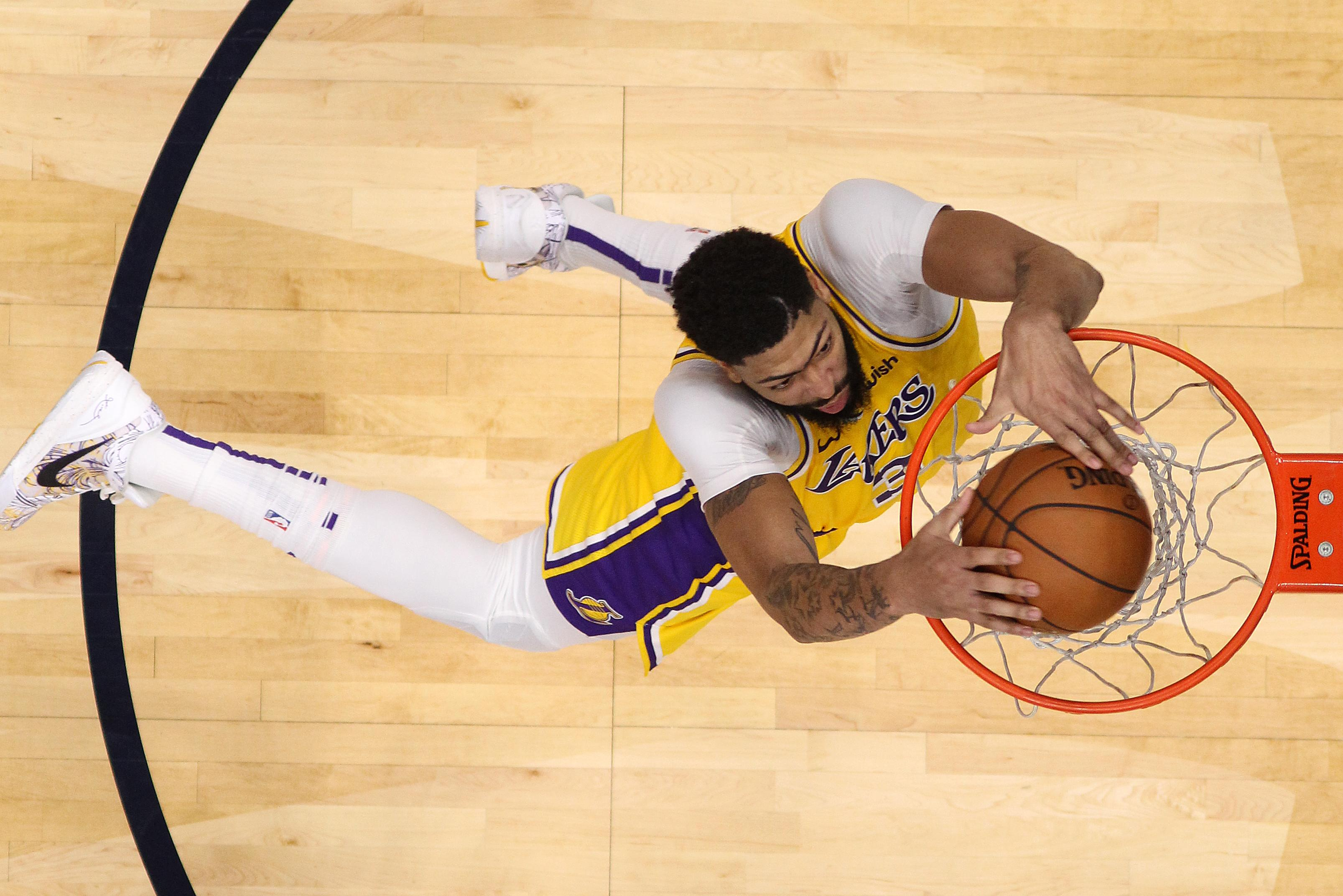 Anthony Davis Refuses To Participate In Dunk Contest