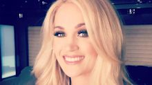 New Mom Carrie Underwood Was Pumping as She Got Glammed Up Ahead of Her ACMs Performance: 'Multitasking'