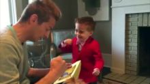 """4-year-old gentleman asks out Valentine's Day """"crush"""""""