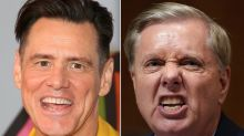 Jim Carrey Hits 'Hideous And Hateful' Lindsey Graham In New Portrait
