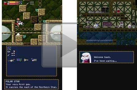 Oh Yeaaah!! Here's Cave Story on DSiWare