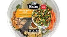 Celebrate National Mango Month with Limited Edition Bistro® Tropical Mango Salad with Mango Cilantro Vinaigrette