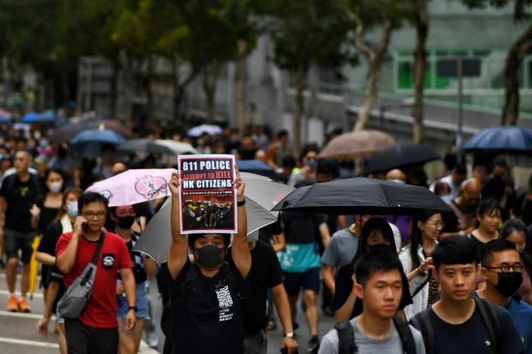 Hong Kong has been left reeling from 10 weeks of protests (AFP Photo/Manan VATSYAYANA )