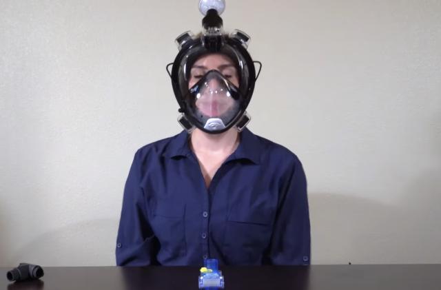 Stanford University lab repurposes scuba gear into reusable PPE