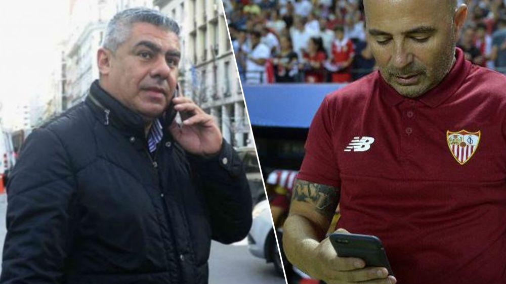 """Tapia lo admitió: """"Vamos a negociar la salida de Sampaoli"""""""