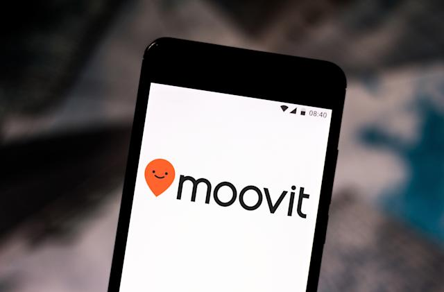 Intel is reportedly close to buying transit app creator Moovit
