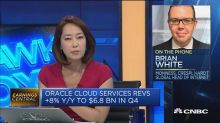 This analyst wants to know more about Oracle's cloud busi...