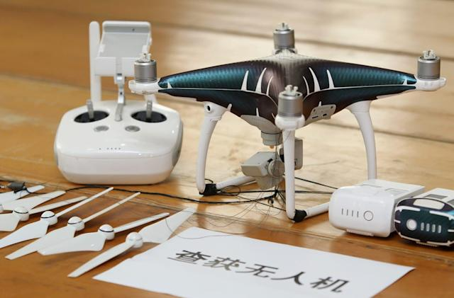 Smugglers used drones to sneak $80 million worth of phones into China