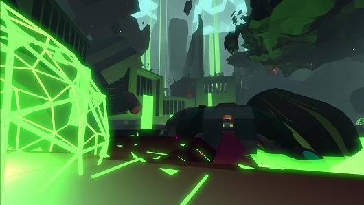 Explore and create music in the Tron-like world of Fract, out next month