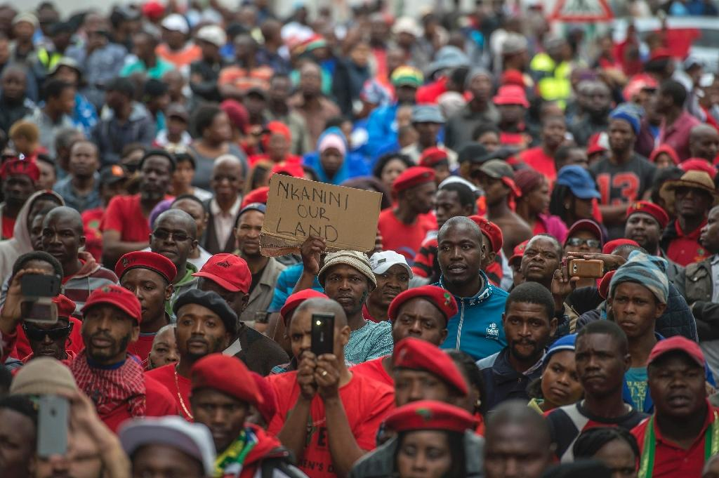 The court case has attracted huge attention in South Africa, where racial inequality persists more than two decades since the end of white minority rule (AFP Photo/MUJAHID SAFODIEN)