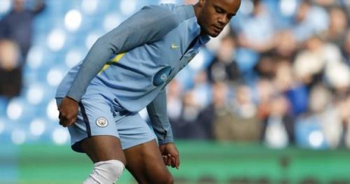 Foot - ANG - City - Manchester City : Vincent Kompany de retour dans le onze de départ contre Chelsea