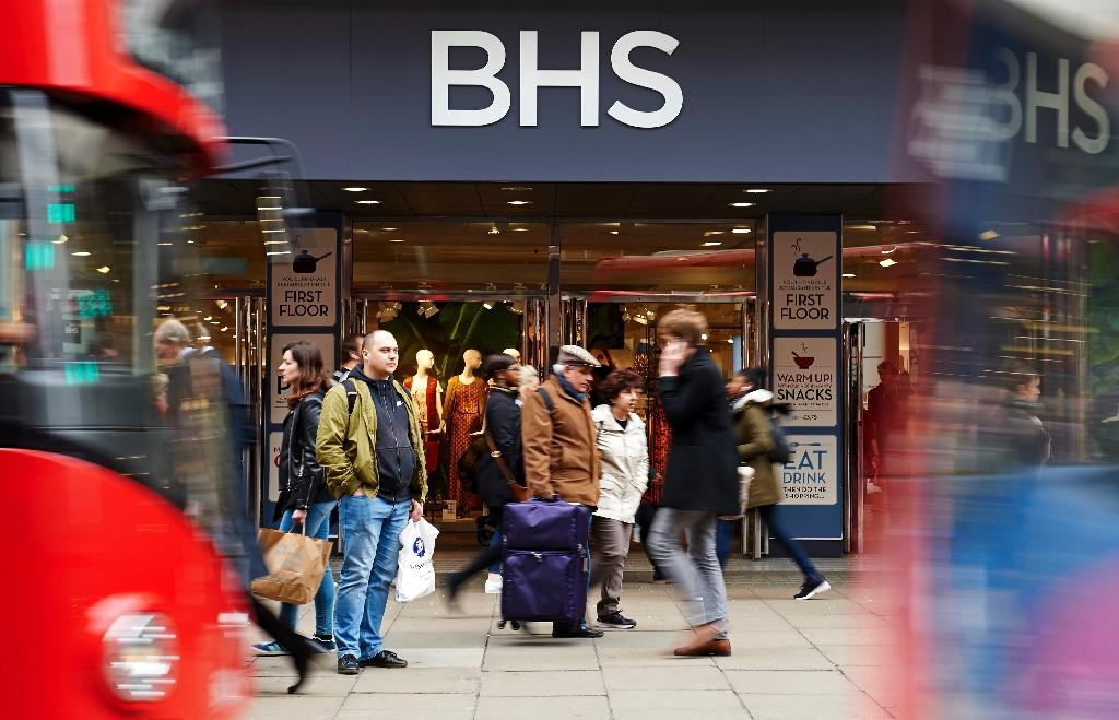 British department store owner BHS is to close administrators said after failing to find a buyer (AFP Photo/Niklas Halle'N)