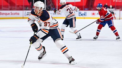 McDavid hits 104 points as magical year winds down