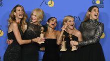 Los momentos 'BFF' de los Globos de Oro 2018