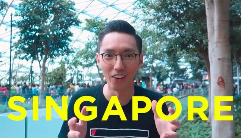 WATCH: This dude made a Nas Daily parody featuring Jewel Changi Airport
