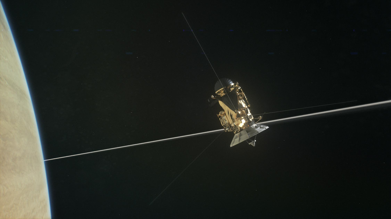 cassini orbiter cool picture - HD2251×1266