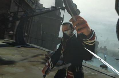 First screenshot from Dishonored shows off swordplay