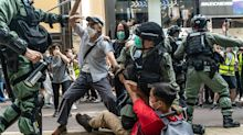 Hundreds arrested in Hong Kong as tensions over proposed security law boil over