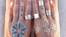 Flash Tattoo, i nuovi tatuaggi sono come gioielli