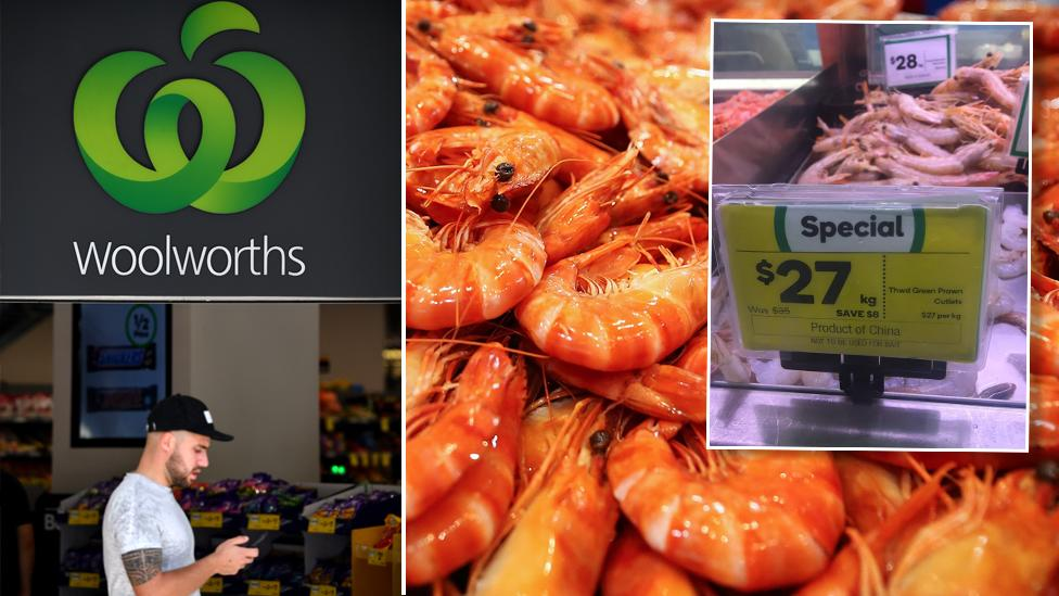 'Shame on you': Why Woolworths shoppers are furious at supermarket's prawns