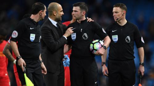 Manchester City é multado por reclamações contra o Liverpool