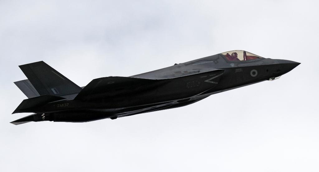 The F-35 is the most expensive plane in history, and costs are set to go higher still (AFP Photo/ADRIAN DENNIS)