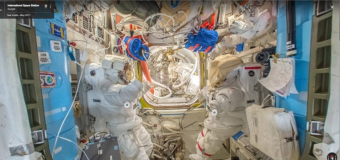 Explore the ISS—with Google Street View
