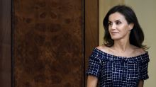 Queen Letizia just wore a £20 Zara dress - and it looks designer