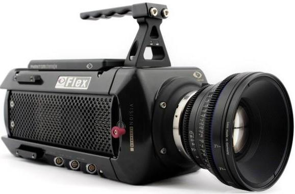 Vision Research's Phantom Flex captures 1080p at 2,800fps, our full attention