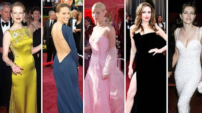 Academy Awards: Best Oscars dresses to date