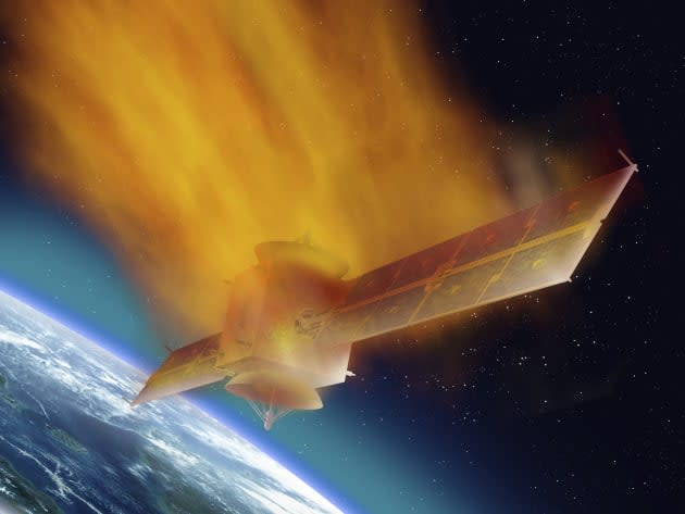 Scientists want to blast space debris with frickin' lasers