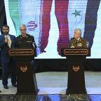 Syria's defense minister slams 'illegitimate' US presence